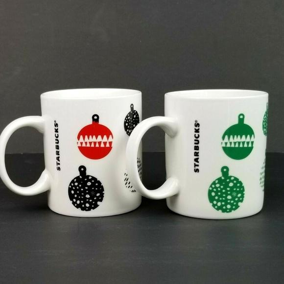 Starbucks Christmas Coffee Mugs.Starbucks Christmas Coffee Tea Mugs